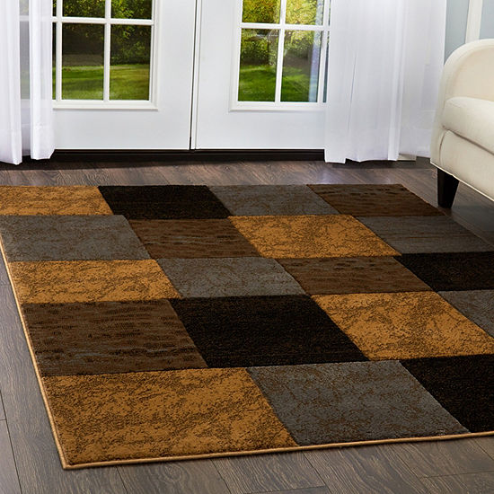 Home Dynamix Tribeca Briar Geometric Rectangular 3-Piece Rug Set