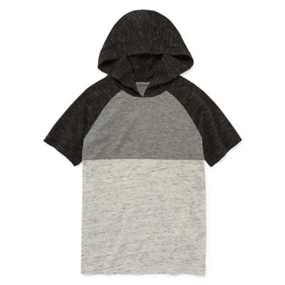 Arizona Short Sleeve Hooded T-Shirt Boys 4-20