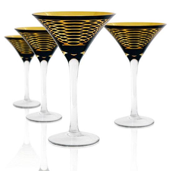 Artland 4-pc. Martini Glasses
