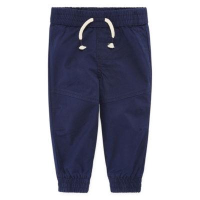 Okie Dokie Woven Jogger Pants - Baby Boy 3M-24M