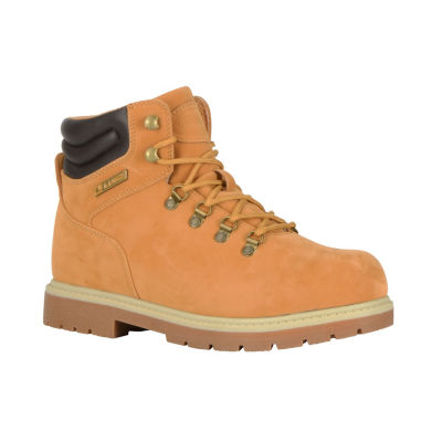 Lugz Mens Grotto Slip Resistant Work Boots Lace-up