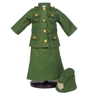 The Queen's Treasures Salvation Army WWI 18 Inch Doll Uniform