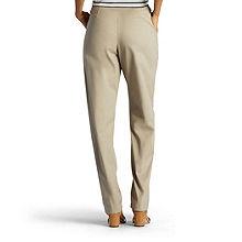 368986677ca7c Lee® Side-Elastic Straight-Leg Twill Pants