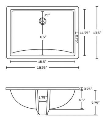 59-in. W Floor Mount Walnut Vanity Set For 3H8-in.Drilling Beige Top White UM Sink
