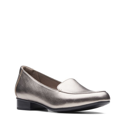 Clarks Womens Juliet Lora Slip-On Shoes Slip-on Closed Toe