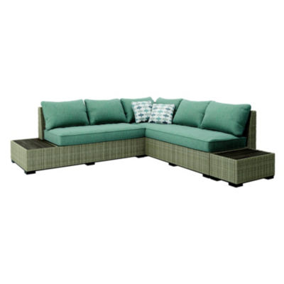 Outdoor by Ashley® Silent Brook 3-Piece Patio Sectional Set