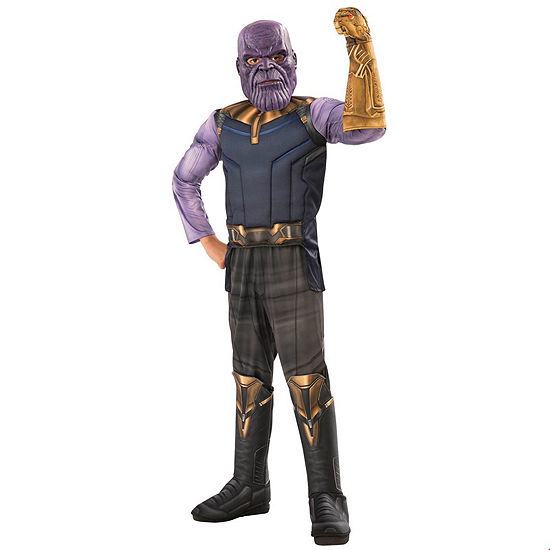 Marvel Avengers Infinity War Thanos Deluxe Boy Costume