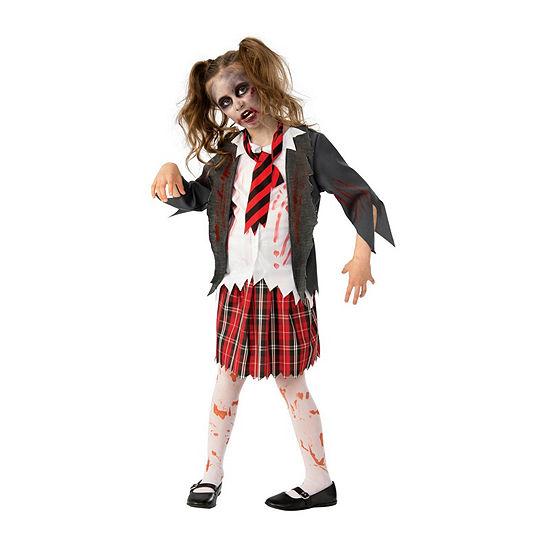 Girls Zombie School Costume Girls Costume