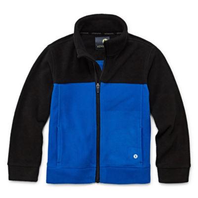 Xersion Fleece Jacket-Big Kid Boys Husky