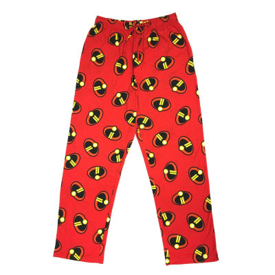 Disney Sleep Pants Mens Knit Pajama Pants The Incredibles