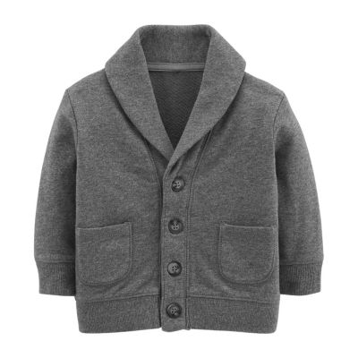 Oshkosh Long Sleeve Cardigan - Baby Boys