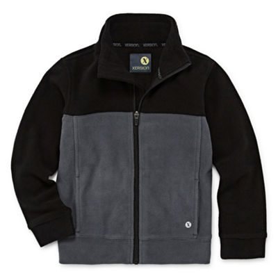 Xersion Fleece Jacket-Big Kid Boys Husky