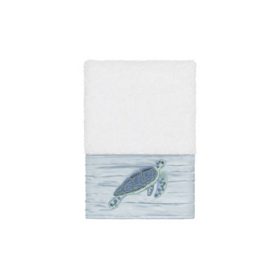 Linum Home Textiles 100% Turkish Cotton Mia Embellished Towel Collection