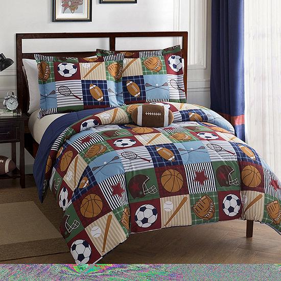 Team Sports Comforter Set