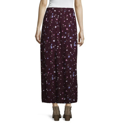 Arizona Womens Long Maxi Skirt - Juniors