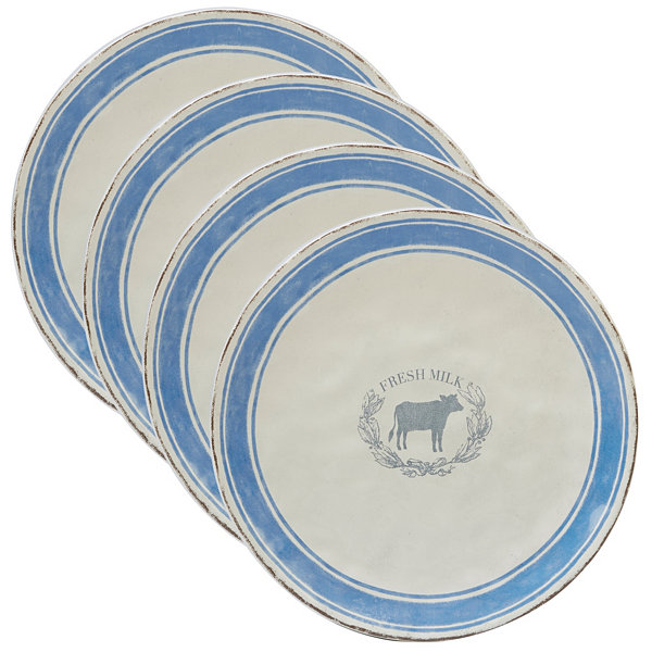 Certified International Urban Farmhouse 4-pc. Dinner Plate