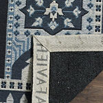 Safavieh Classic Vintage Collection Waylon Geometric Runner Rug