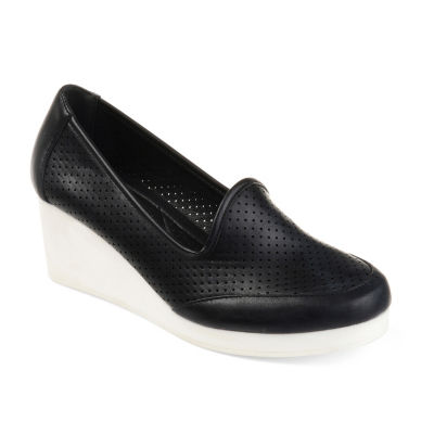 Journee Collection Safire Womens Slip-On Shoes