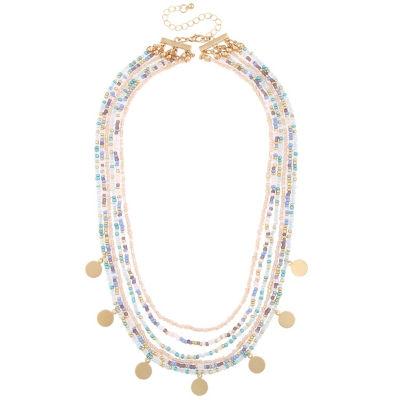 Decree Womens Strand Necklace
