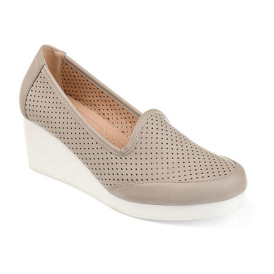 Journee Collection Womens Safire Slip-On Shoes