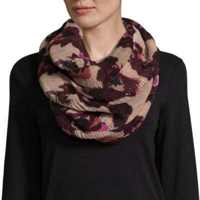 Mixit Fall Scarves Infinity Floral Scarf