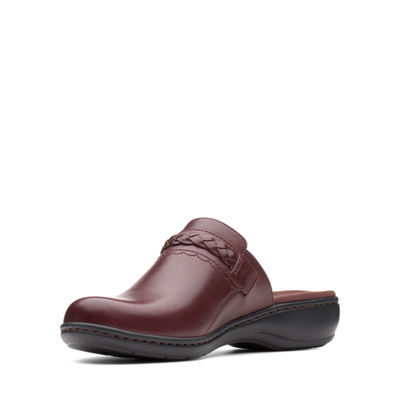 Clarks Womens Leisa Carly Clogs Slip-on Closed Toe