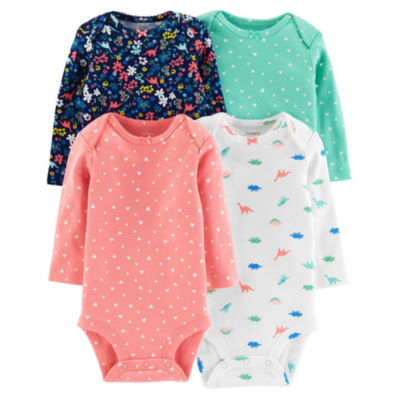 Carter's 4-Pk. Bodysuit - Baby Girl