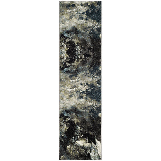 Safavieh Glacier Collection Jessika Abstract Runner Rug