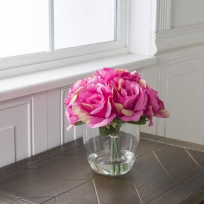 Pure Garden Rose Floral Arrangement