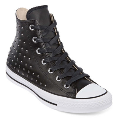 Converse Ctas Leather Stud High-Top Womens Sneakers