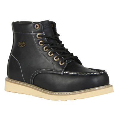 Lugz Mens Roamer Hi Slip Resistant Work Boots Lace-up