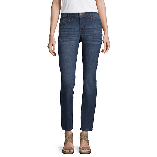 Liz Claiborne Womens Low Rise Skinny Fit Jean