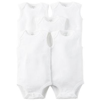 Carter's Little Baby Basics 5-pk. Bodysuits - Baby