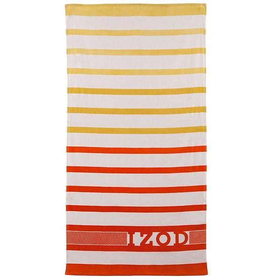 IZOD® Ombré Stripe Beach Towel