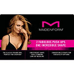 Maidenform One Fab Fit 2-Pack Underwire Demi Push Up Bra-0972xj