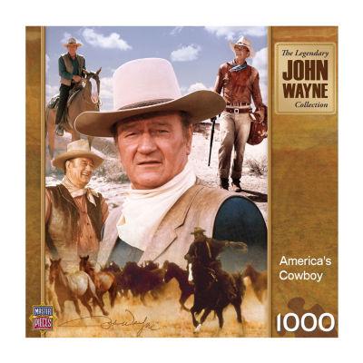 Masterpieces Puzzles John Wayne - America's CowboyPuzzle: 1000 Pcs