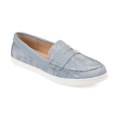 Journee Collection Womens Jc Irina Loafers Slip-on Round Toe