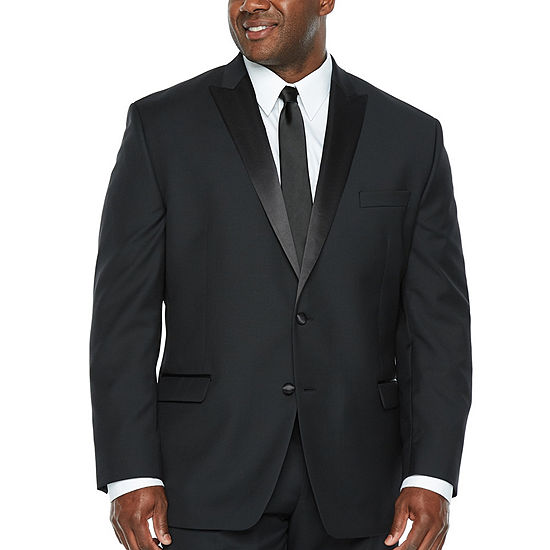 Collection by Michael Strahan  Classic Fit Tuxedo Jacket - Big and Tall