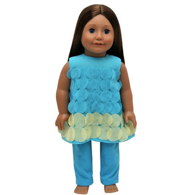 The Queen's Treasures Teal Legging 18 Inch Doll Clothes Outfit