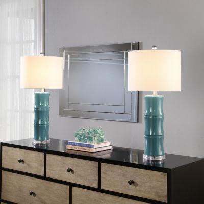 Malaysia Ceramic Table Lamp Set Of 2