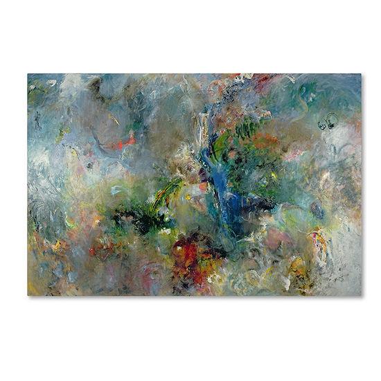 Trademark Fine Art Jane Deakin Valley of the Waterfalls Giclee Canvas Art