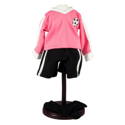 The Queen's Treasures Girls Rule 18 Inch Doll Soccer 4-pc. Outfit