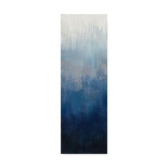 Trademark Fine Art Silvia Vassileva Silver Wave IIGiclee Canvas Art