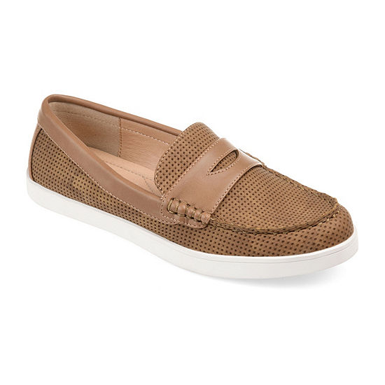 Journee Collection Womens Irina Loafers Round Toe