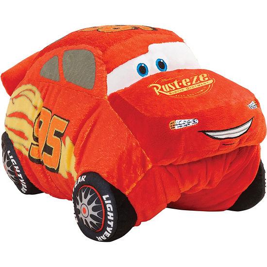 """Disney Cars Lightning McQueen 16"""" Pillow Pet"""