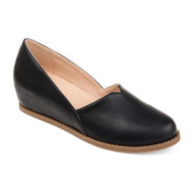 Journee Collection Womens Jc Val Slip-On Shoes Slip-on Round Toe