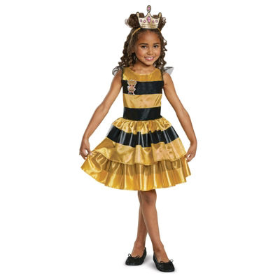L.O.L Dolls Queen Bee Classic Child Costume Costume