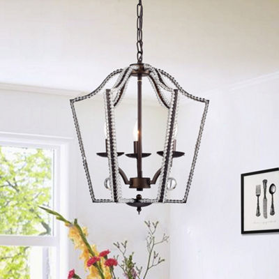 Berjor 3-Light Chandelier Antique Bronze