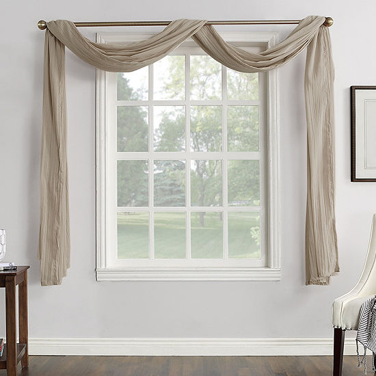 JCPenney Home Vivian Scarf Valance