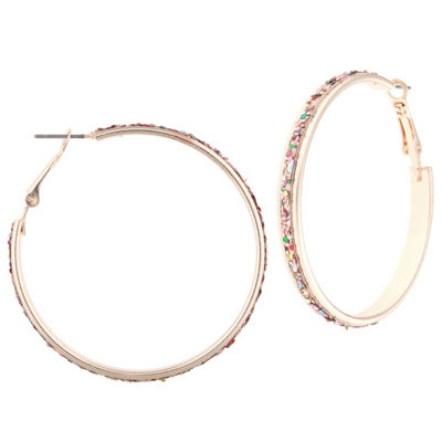 Decree 2 Inch Hoop Earrings